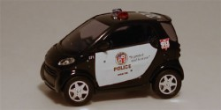 Smart City Coupe Los Angeles Police