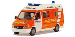 Mercedes Benz Sprinter Babynotarzt Feuerwehr Wuppertal