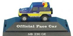 Mercedes Benz 230 GE Official Pace Car