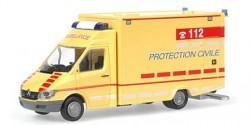 Mercedes Benz Sprinter IRTW Protection Civile