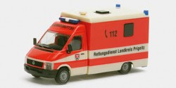 VW LT Strobel Rettungsdienst Prignitz RTW