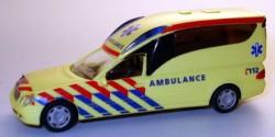 Mercedes Benz A2003 KTW De Graaff AmbulanceTechniek