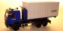 Mercedes Benz SK Container THW-Logistikzentrum Heiligenhafen