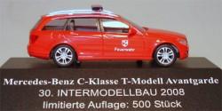 Mercedes Benz C-Klasse T-Modell Avantgarde ELW Feuerwehr
