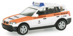 BMW X3 Kindernotarzt München