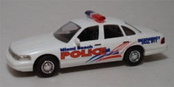 Ford Crown Victoria Miami Beach Police