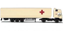 MAN Evo HD Sattelzug Rotes Kreuz