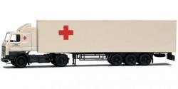 Scania 3 R Koffersattelzug Rotes Kreuz
