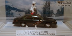 Ford Crown Victoria North Pole Police