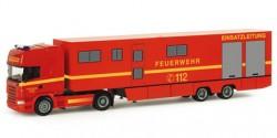 Scania R TL Koffer-Sattelzug ELW 3 Feuerwehr