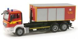 MAN TGS Abrollcontainer-LKW Feuerwehr Dresden