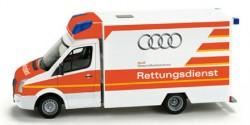 VW Crafter RTW Rettungsdienst Audi Gesundheitsschutz