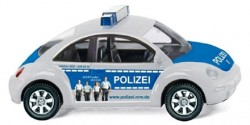VW New Beetle Polizei NRW-Nachwuchswerbung