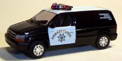 Dodge Van CHP Commercial Vehicle Enforcement