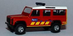 Land Rover Defender Feuerwehr De Panne