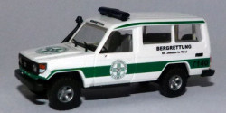 Toyota Land Cruiser HZJ 78 Bergrettung St. Johann