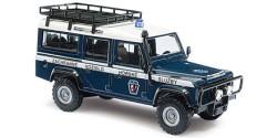 Land Rover Defender Bergrettung Tschechien