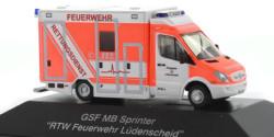 Mercedes Benz Sprinter RTW Feuerwehr Lüdenscheid