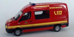 VW Crafter Feuerwehr Dortmund
