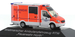 Mercedes Benz Sprinter RTW Feuerwehr Hürth