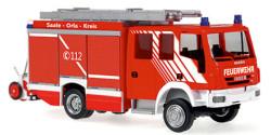 Iveco Magirus Alufire 3 HLF Feuerwehr Bad Lobenstein