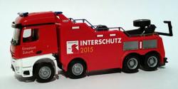 Mercedes Benz Arocs Empl Bison Bergefahrzeug Feuerwehr