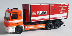 Mercedes Benz Actros M 96 WLF AB Lüftung 2-73-1 Feuerwehr Stuttgart