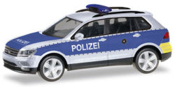 VW Tiguan Polizei Wiesbaden