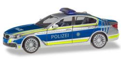 BMW 5er Limousine Lotsenfahrzeug Polizei München